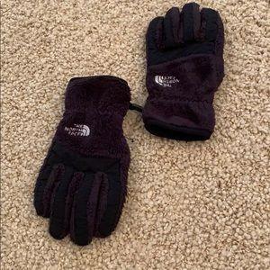 Kids large north face gloves